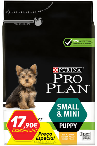 Ração ProPlan Small & Mini Puppy Optistart